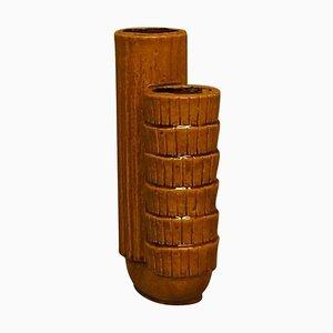 Large Rörstrand Gunnar Nylund Chamotte Vase