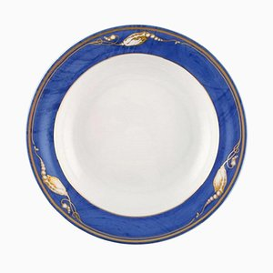 Royal Copenhagen Magnolia Deep Plates, Set of 10