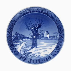 Royal Copenhagen Christmas Plate, 1944