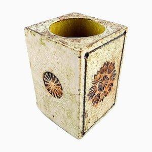 Französische Roger Capron Vallauris Keramikvase, Mitte 20. Jahrhundert