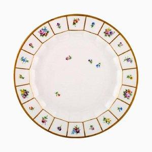 Royal Copenhagen Henriette Large Round Dish Hand-Painted Porcelain