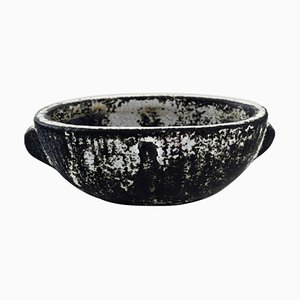 Bowl in Glazed Stoneware by Svend Hammershøi for Kähler, Denmark, 1930s