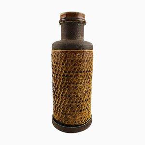 Glazed Stoneware Vase by Nils Kähler, 1960s