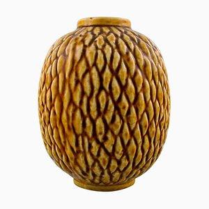 Rorstrand Gunnar Nylund Chamotte Vase, 1960s