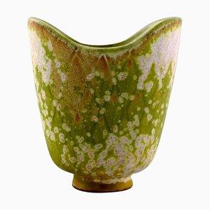 Gunnar Nylund für Rörstrand Vase aus Glasiertem Steingut
