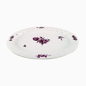 Royal Copenhagen Huge Purpur Serving Plate