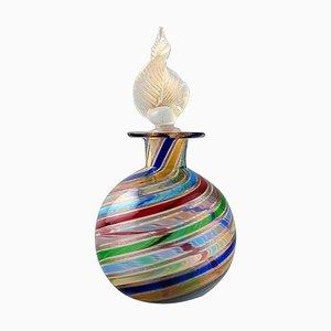 Murano Glasflasche, 1960er
