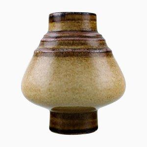 Glasierte Mid-Century Vase aus Keramik von Gösta Andersson für Rörstrand