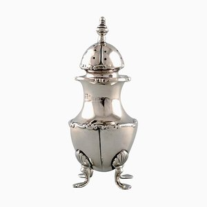19th Century English Silver Pepper Shaker