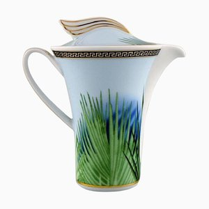 Jungle Porcelain Creamer with Gold Decoration by Gianni Versace for Rosenthal