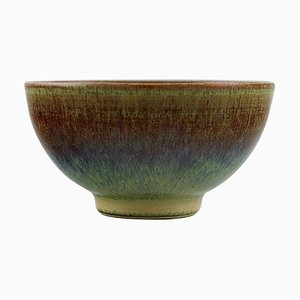 Bowl in Glazed Ceramic by Anders Dolk, Hedemora, Sweden