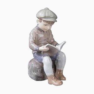 Dahl Jensen Reading Boy Number 1096