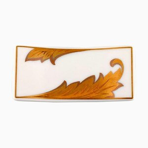 Gianni Versace for Rosenthal Arabesque Gold Porcelain Knife Rest