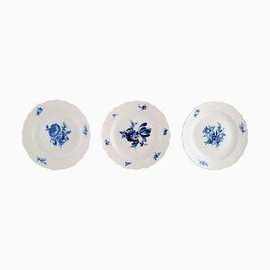 Meissen Plates, 1920s, Set of 3