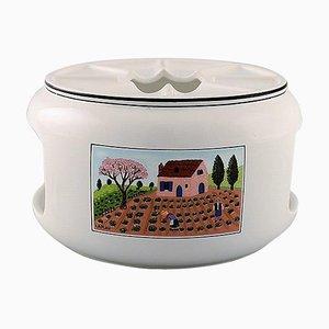 Villeroy & Boch Naif Teak Cosy für Teelichter aus Porzellan