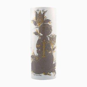 Bjorn Wiinblad for Rosenthal Studio Line Porcelain Vase, 1980s