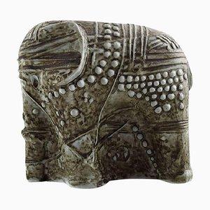 Elephant en Céramique par Bertil Vallien, Suède, 1960s