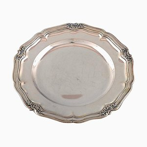 Danish Silver Dish by CHF. Christian for Heise, 1916