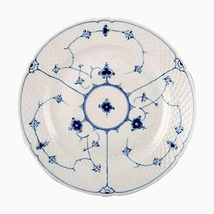 Bing & Grondahl Blue Fluted Large Round Platter