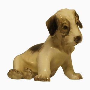 Puppy Sculpture by Dahl Jensen, 20th Century