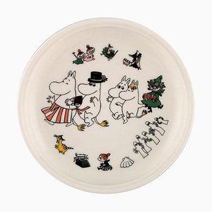 Porcelain Plate with Motif from Moomin from Arabia, Late 20th Century