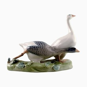 Two Geese No. 609 Figurine from Royal Copenhagen, 1970s