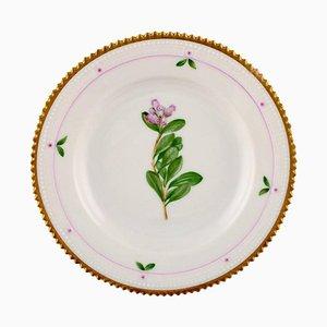 Flora Danica Dessert Plate 735/3551 from Royal Copenhagen, 1930s