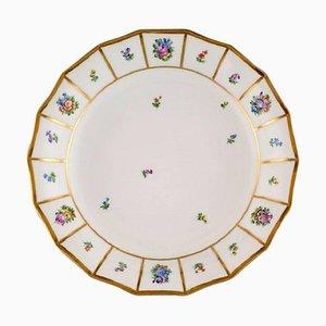 Hand-Painted Porcelain Henriette Bowl from Royal Copenhagen