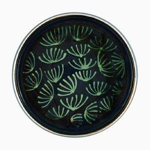 Glasierte Keramikschale von Kähler, HAK, 1940er