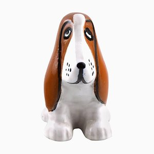 Vintage Ceramic Dog by Lisa Larsson for Ahlens