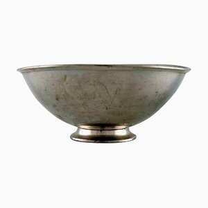 Bowl in Pewter by Just Andersen, 1930s