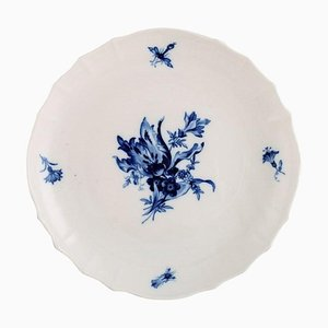Blue Onion Low Porcelain Bowl from Meissen, 1920s