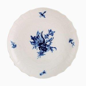 Scodella in porcellana blu a forma di cipolla di Meissen, anni '20