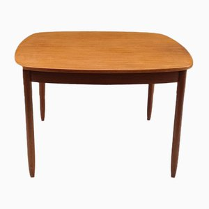 Mid-Century Scandinavian Extendable Square Dining Table
