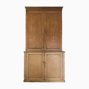 Antique Victorian Pine Cabinet