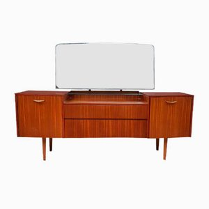 Mid-Century Rosewood Dressing Table with Mirror by Avalon Yatton