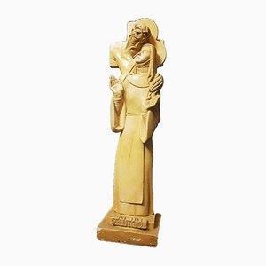 Vintage Religious Albert Poels Sculpture