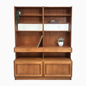 Mid-Century Danish Forfar Teak Bookcase from Mcintosh