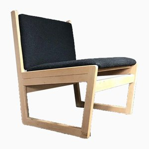 Mid Century Danish Wool Chair from Kvetny & Sønners Stolefabrik