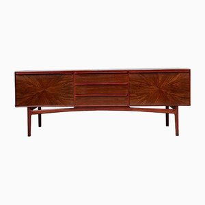Mid-Century Danish Rosewood Starburst Sideboard from Mcintosh