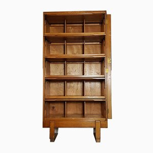 Vintage Oak Staverton Haberdashery Pigeon Holes Cabinet