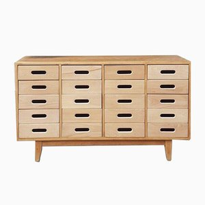 Mid-Century School Chest of Drawers by James Leonard for Esavian ESA