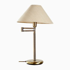 Brass Adjustable Table Lamp, 1960s