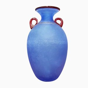 Murano Glass Excavation Vase by Franco Moretti for Made Murano Glass, 1980s