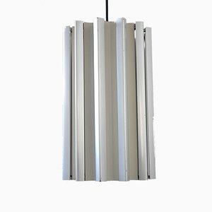 Aluminium Fins Ceiling Lamp, 1960s
