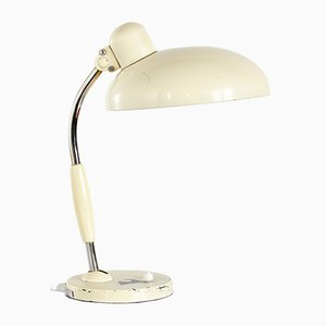 Cream Model 2035 TL122 Workshop Table Lamp by Christian Del for Koranda, 1950s