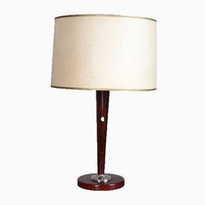 Mid-Century Rosewood Table Lamp