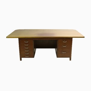 Large Mid-Century Executive Desk by D.A. Wieth-Knudsen