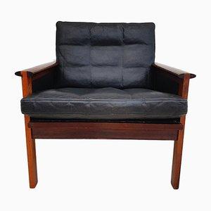 Danish Rosewood Armchair by Illum Wikkels