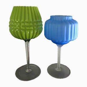Vintage Goblets, 1960s, Set of 2